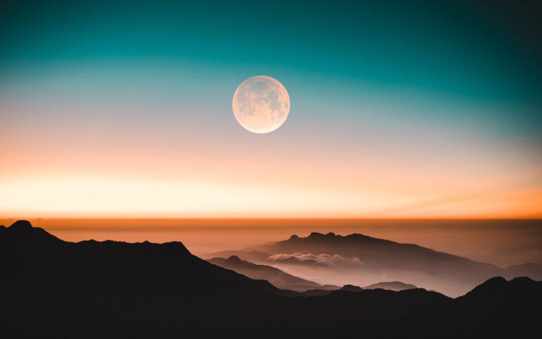 paysage de lune